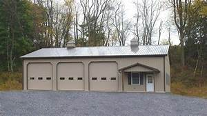 70 best images about garage on pinterest With 4 car pole barn