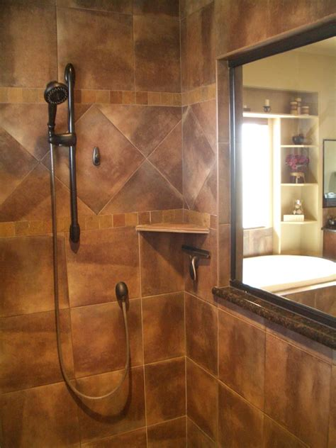 stunning tile shower designs page