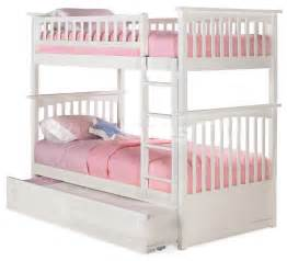 bunk beds twin full bunk beds with stairs trundle
