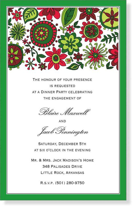 free christmas dinner invitations christmas party invitation template party invitations