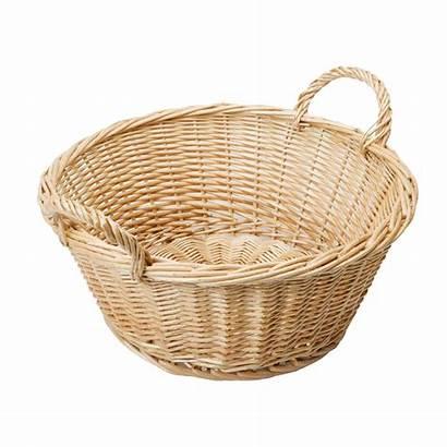 Basket Empty Easter Transparent Wicker Baskets Fruit