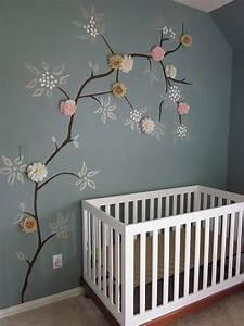 initiales gg une fille mais pas que chambre de bebe With chambre bébé design avec quelques fleurs l original houbigant