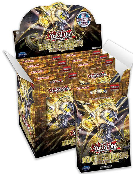 Yugioh Rise Of The True Dragons Structure Deck Display