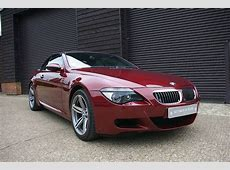 Used Bmw 6 Series M6 50 V10 Convertible SMG II Seymour