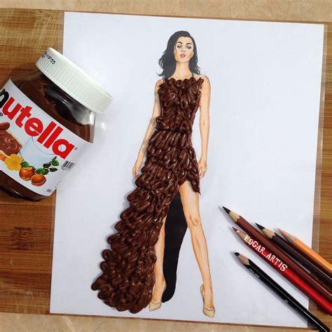 Fashion Design Dresses by Armenian Illustrator Creates Amazing Dress Designs Using