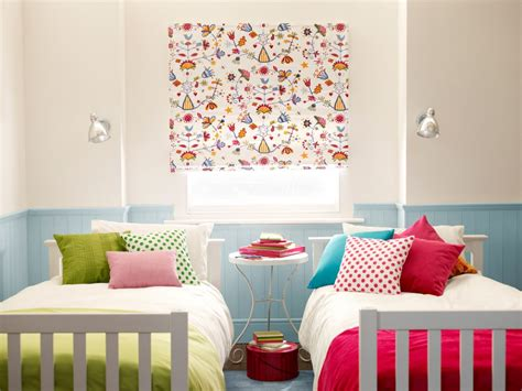 Childrens Roman Blinds  Little Childrens Curtain Company