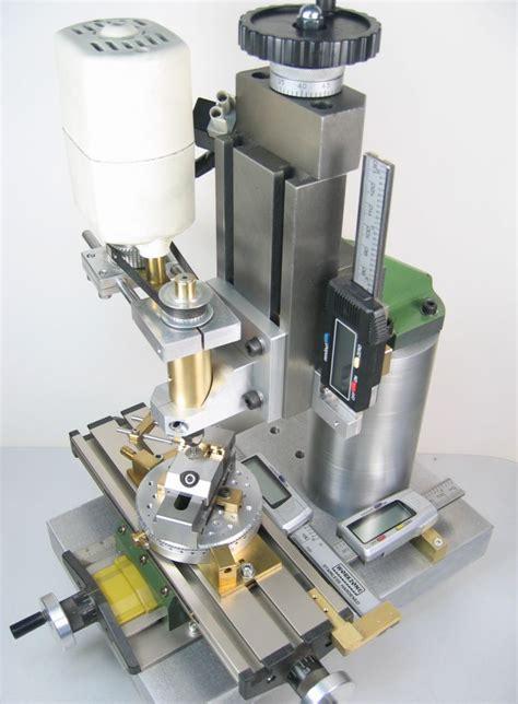 small homemade milling machine  desktop machining