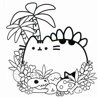 Pusheen Coloring Pages Printable Categories
