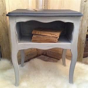 table de chevet grise table de chevet grise 2 tiroirs With meuble cuisine maison du monde 11 table de chevet avec tiroirs en manguier gris l 45 cm