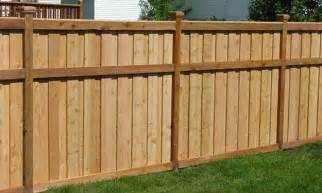 Wooden Privacy Fence Designs