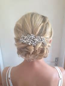 Wedding Hair Updo with Veil