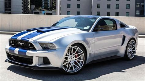 'need For Speed' Custom Ford Mustang Sells For 0,000