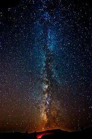 Real Milky Way Galaxy