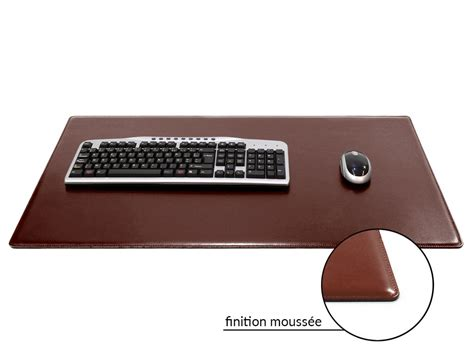 sous bureau cuir grand sous de bureau en cuir marron 80 cm par 50 cm