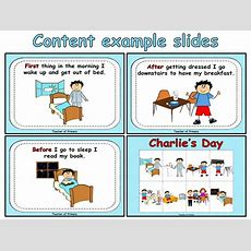 Sequencing Events  Charlie's Day By Onlineteachingresources  Teaching Resources