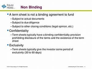 investor term sheet template - understanding vc term sheets
