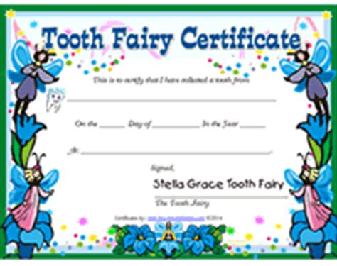 Free printable tooth fairy certificate template costumepartyrun free tooth fairy certificates printable templates yelopaper Choice Image