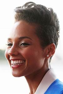 Alicia Keys Fauxhawk Fauxhawk Lookbook StyleBistro