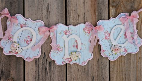shabby chic banner shabby chic high chair banner shabby chic birthday party