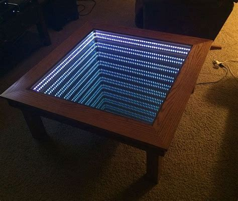 25+ Unique Infinity Mirror Table Ideas On Pinterest Diy