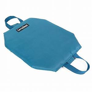 Lava seattm portable heated seat cushion in blue bed bath for Bed bath beyond gel seat cushion