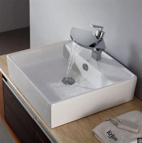 overmount bath sink harder keep clean around sink
