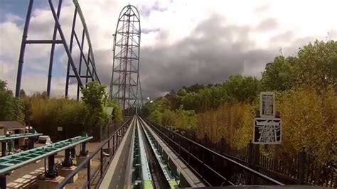 kingda ka  flags great adventure hd front row pov
