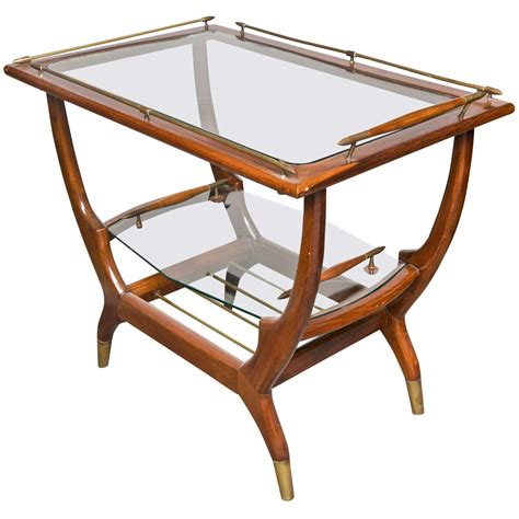Mid-Century Modern Teak Bar Cart at 1stdibs