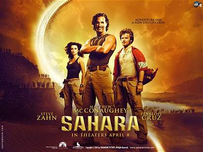 Sahara 2005 Poster Film Matthew Mcconaughey Movies