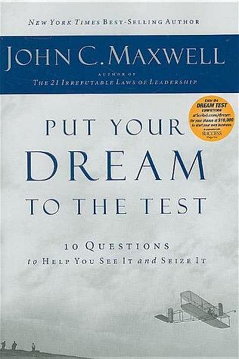 put  dream   test  questions