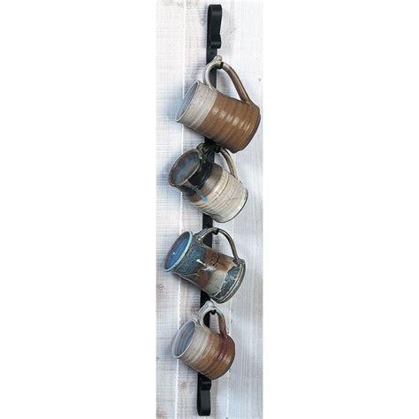 Sourcing guide for cup holder wall: Metal Wall Mounted Mug Rack - Vertical in 2020 | Mug rack ...