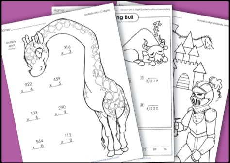 worksheets a one stop resource review