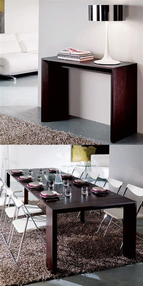 ideas ingeniosas  ahorrar espacio  mesas