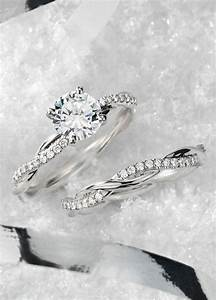 petite twist diamond engagement ring in platinum 1 10 ct With twisted engagement ring with wedding band