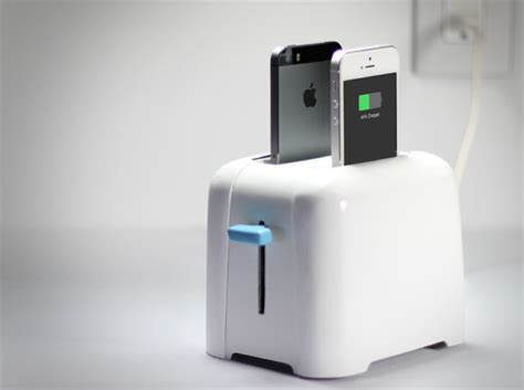 A Toaster Iphone Charger (take 2