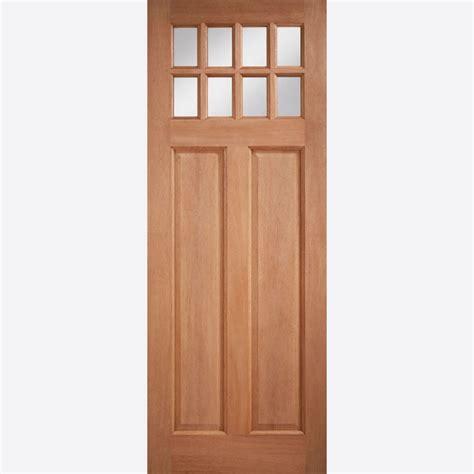 Hardwood Doors by Lpd Chigwell Glazed Hardwood External Door