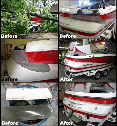 Fiberglass Boat Repair Phoenix by Fiberglass Repair Midwest Water Sports
