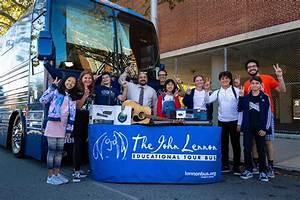 Yoko Ono And John Lennon Educational Tour Bus  U0026quot Imagine A