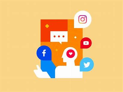 Social Intergration Communication Digital Down Icon Services