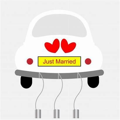 Married Clipart Congratulations Card Retro Clip Sign