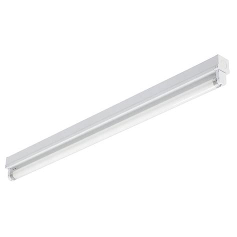 lithonia lighting 1 light white fluorescent light