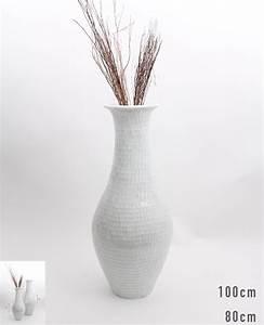 Bodenvase Weiss 80 Cm : gro e bodenvase mit glasmosaik 80 cm keramik wei ebay ~ Bigdaddyawards.com Haus und Dekorationen