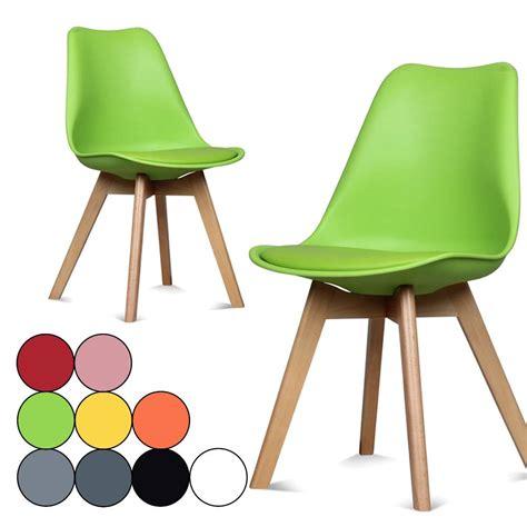 chaises de couleur chaise coloree