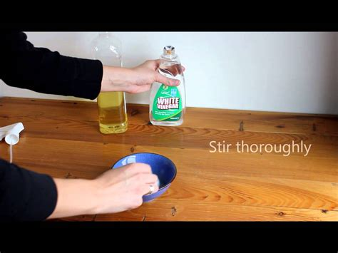 how to polish wood table how to make natural wood furniture polish youtube