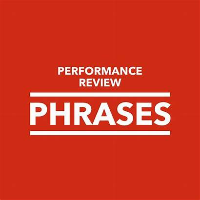 Performance Employee Evaluation Phrases Self Annual Appraisal