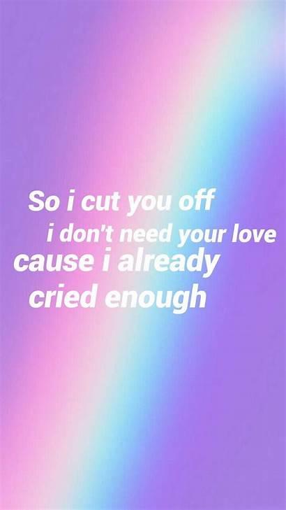 Lyrics Song Idgaf Dua Lipa Quotes Lyric