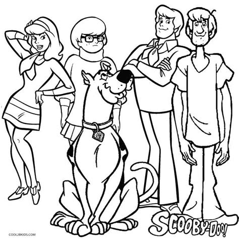 lego scooby doo coloring pages