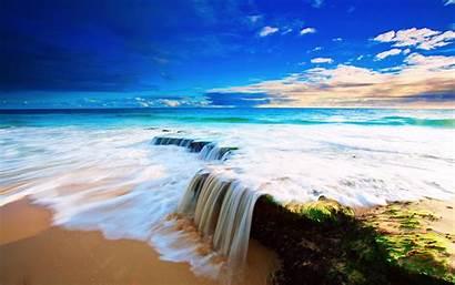 Ocean Backgrounds Desktop Wallpapers Nature Sea Beach