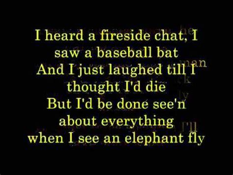 elephant fly lyrics youtube