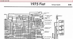 1975 Fiat 124 Spider Wiring Diagram